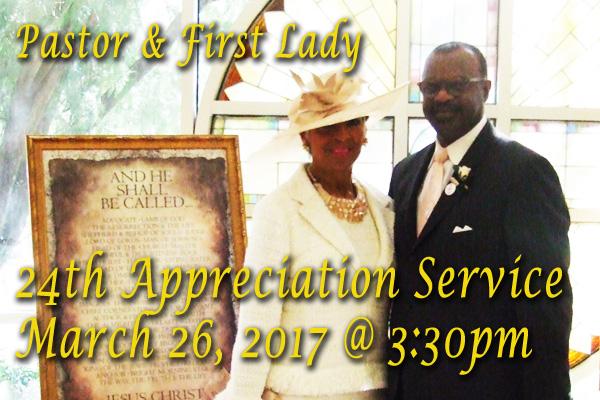 Pastor & First Lady 24th Appreciation Service - Jordan ...